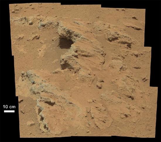 Марс русло пересохшего ручья