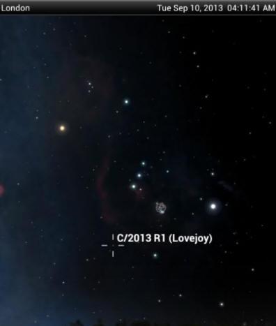 Осколки кометы ISON