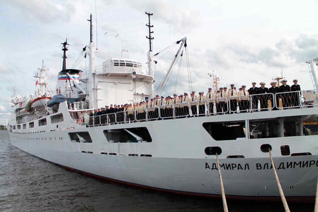 Судно «Адмирал Владимирский»