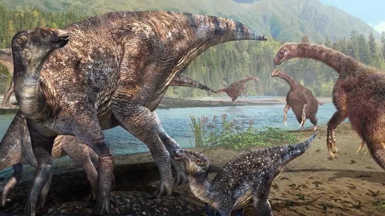 Динозавры Антарктиды