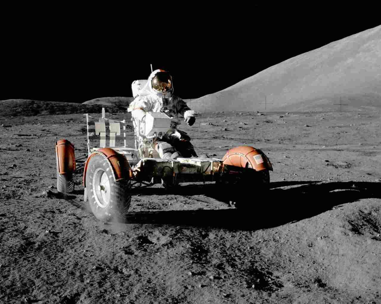 Лунный автомобиль Аполлона