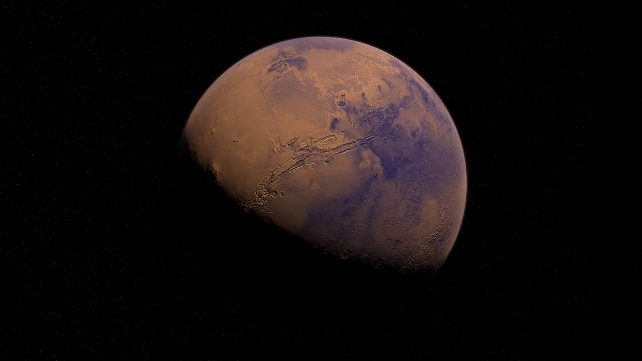 Марс — четвёртая планета