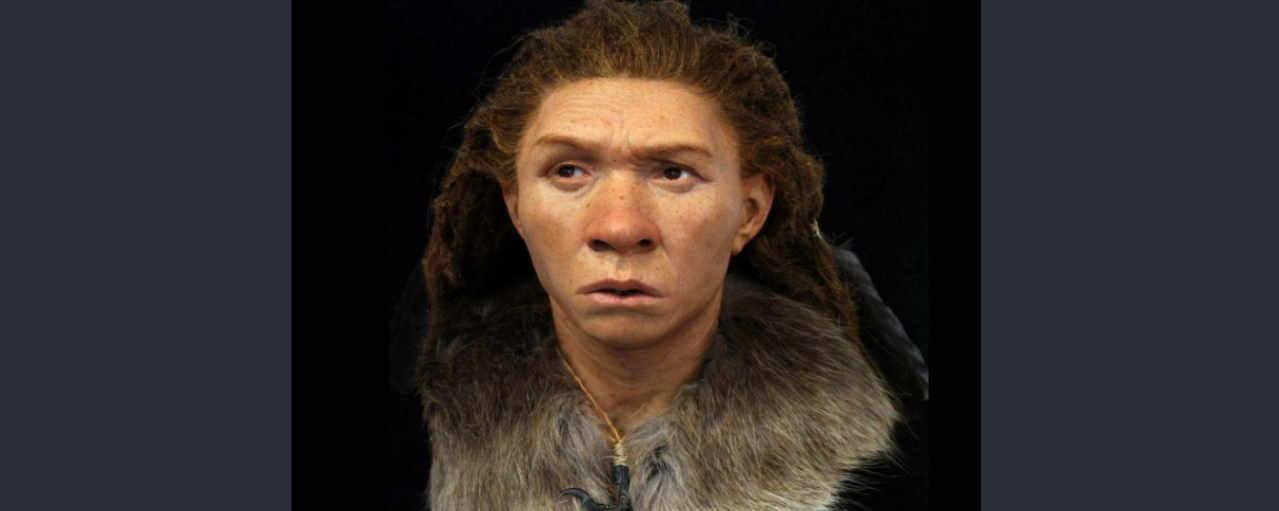 Неандертальская женщина