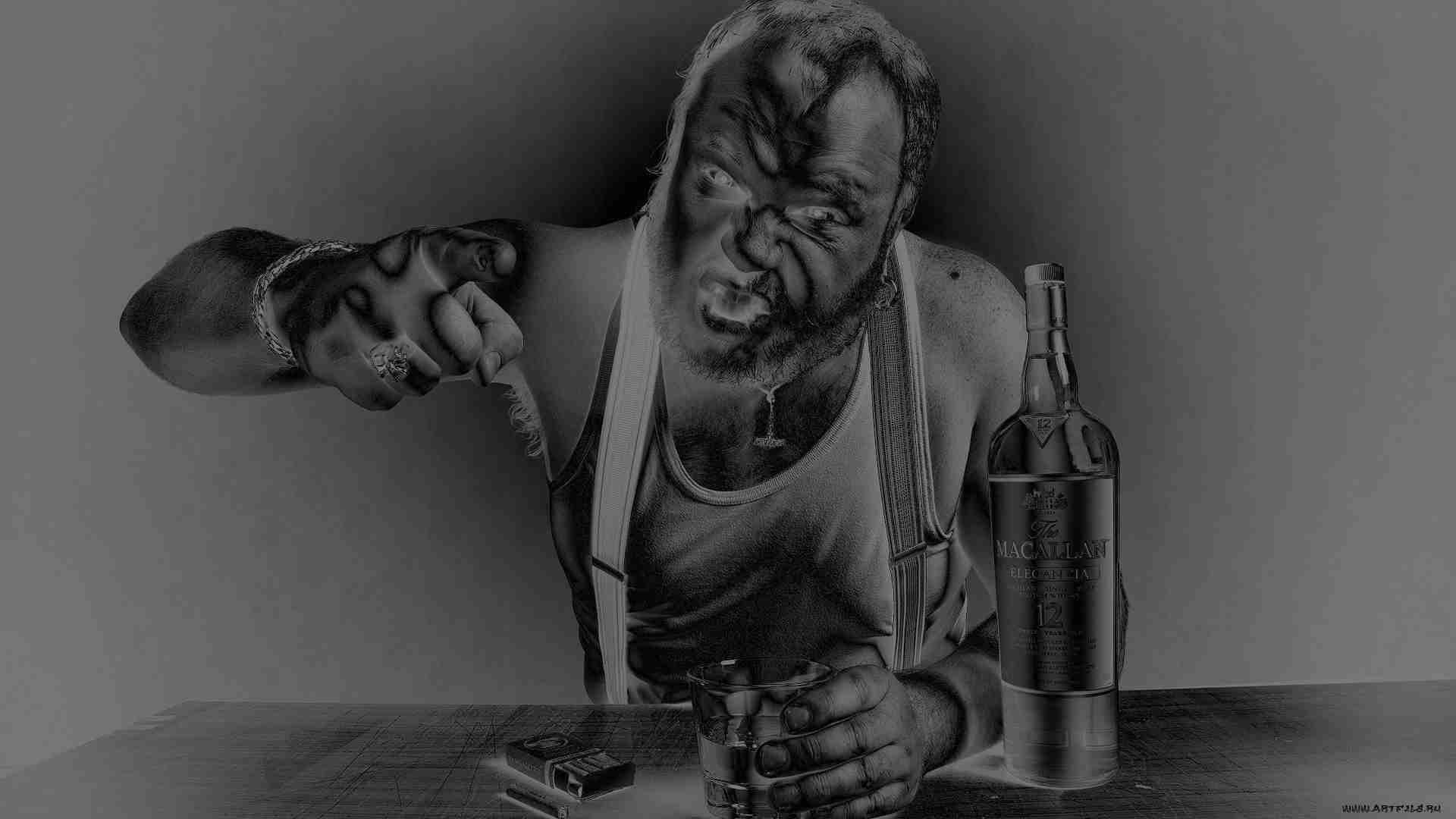 Алкогольный полтергейст