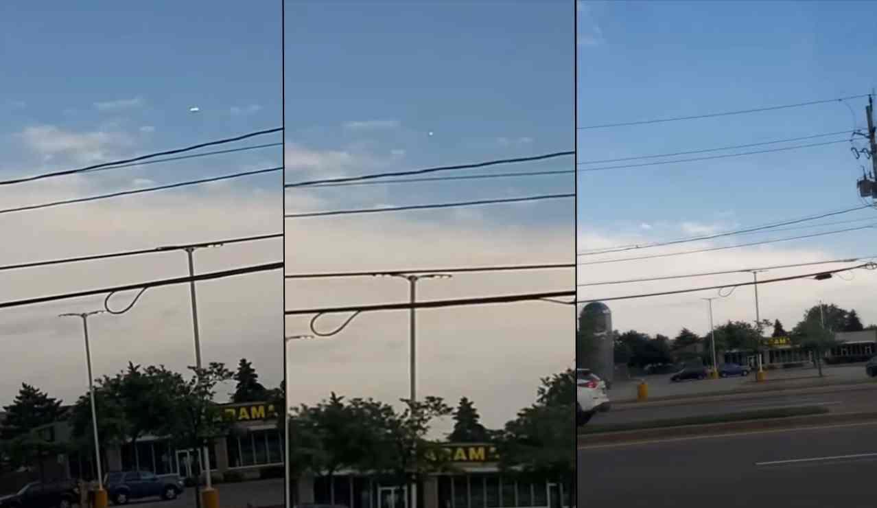 Исчезающие НЛО