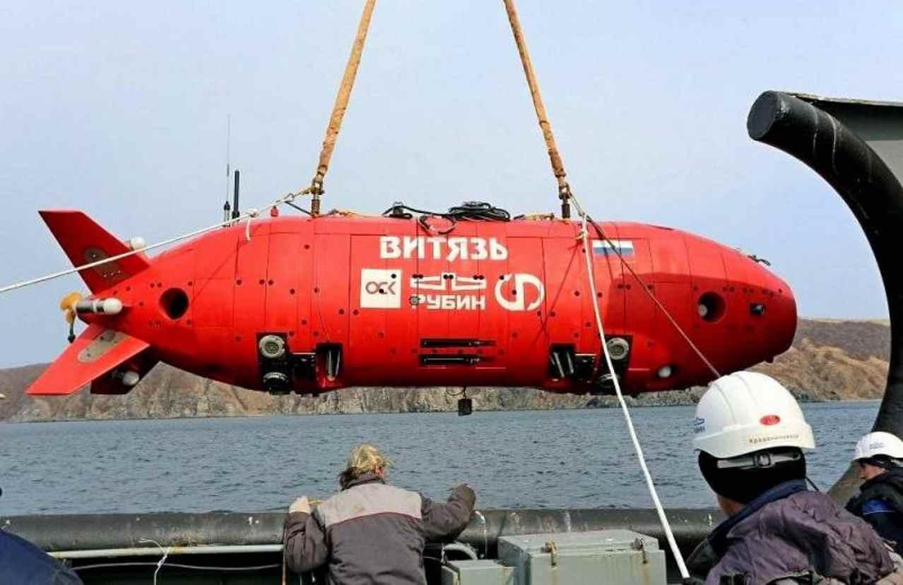 Российский подводный аппарат «Витязь-Д»
