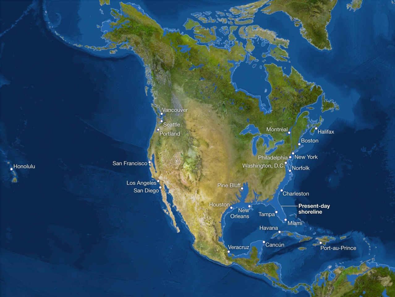 Потоп Северной Америки