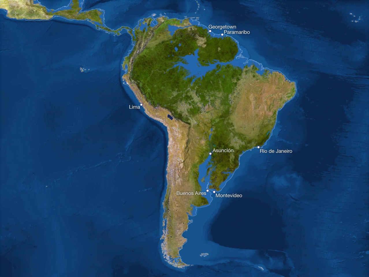 Потоп Южной Америки