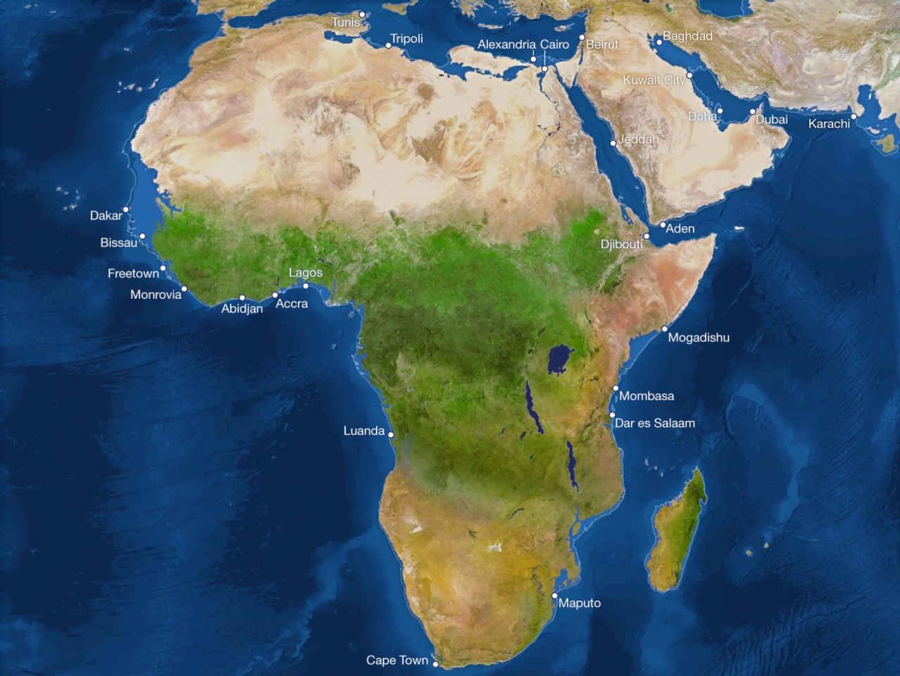 Потоп Африки