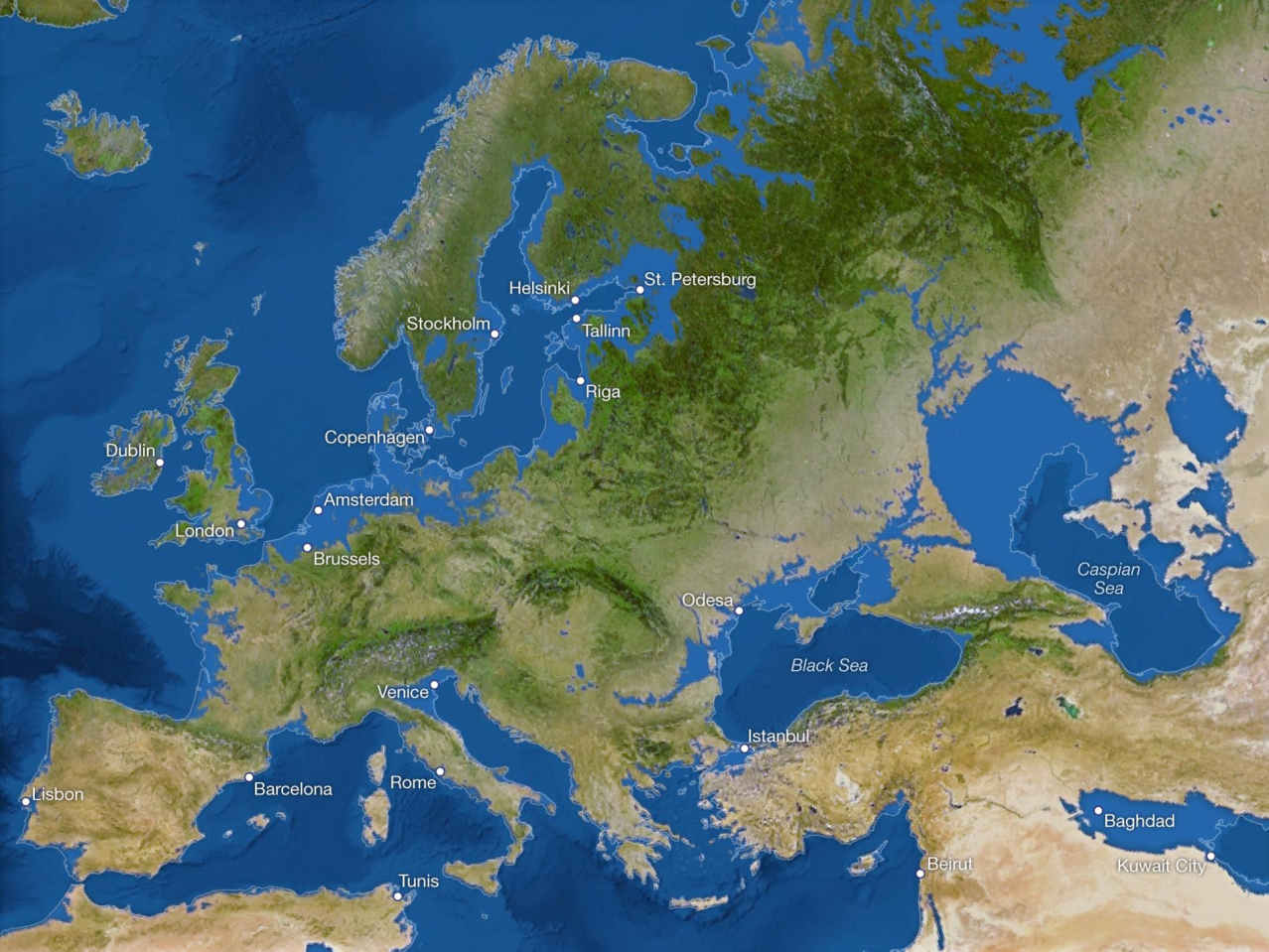 Потоп Европы