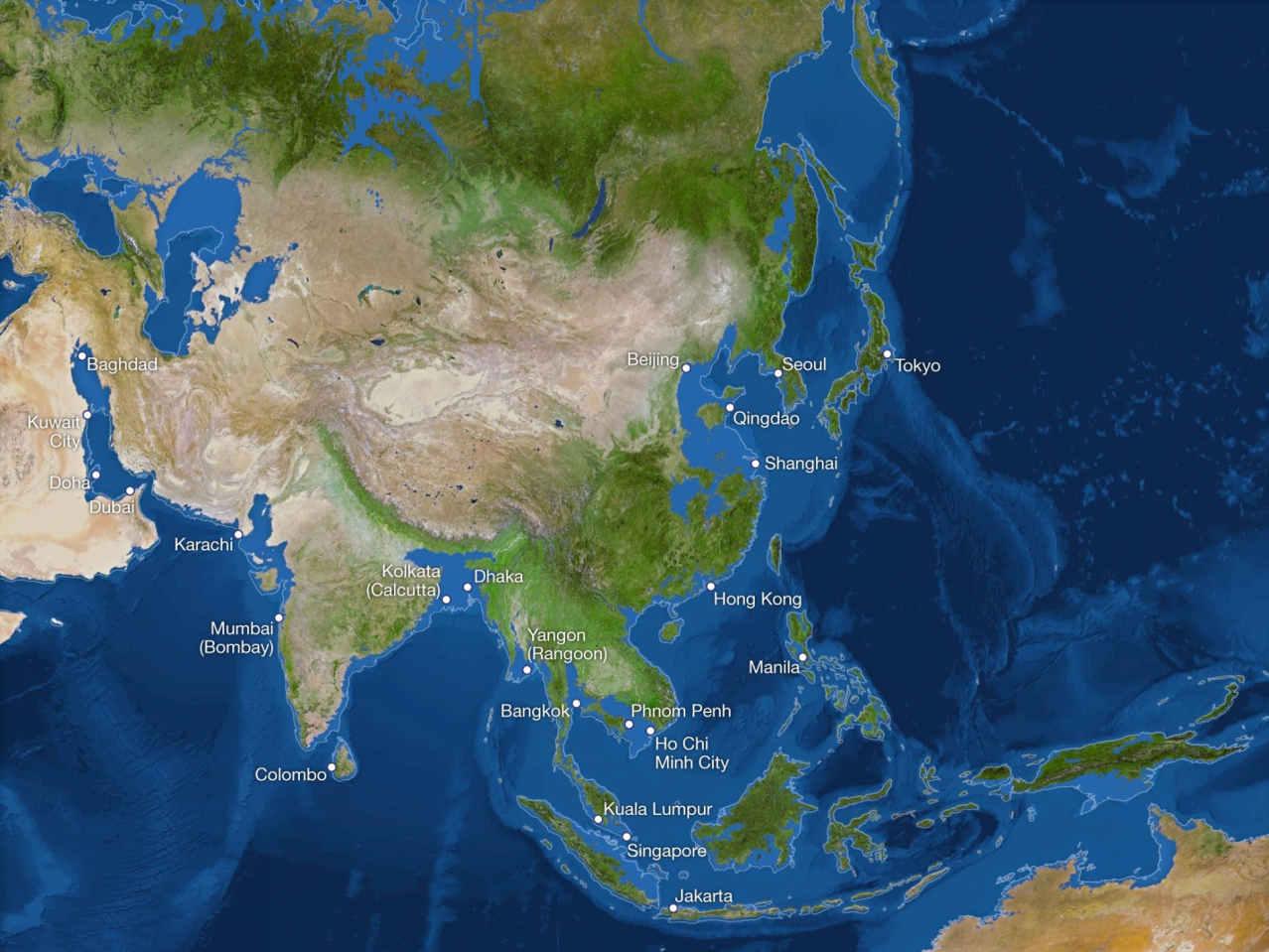 Потоп Азии