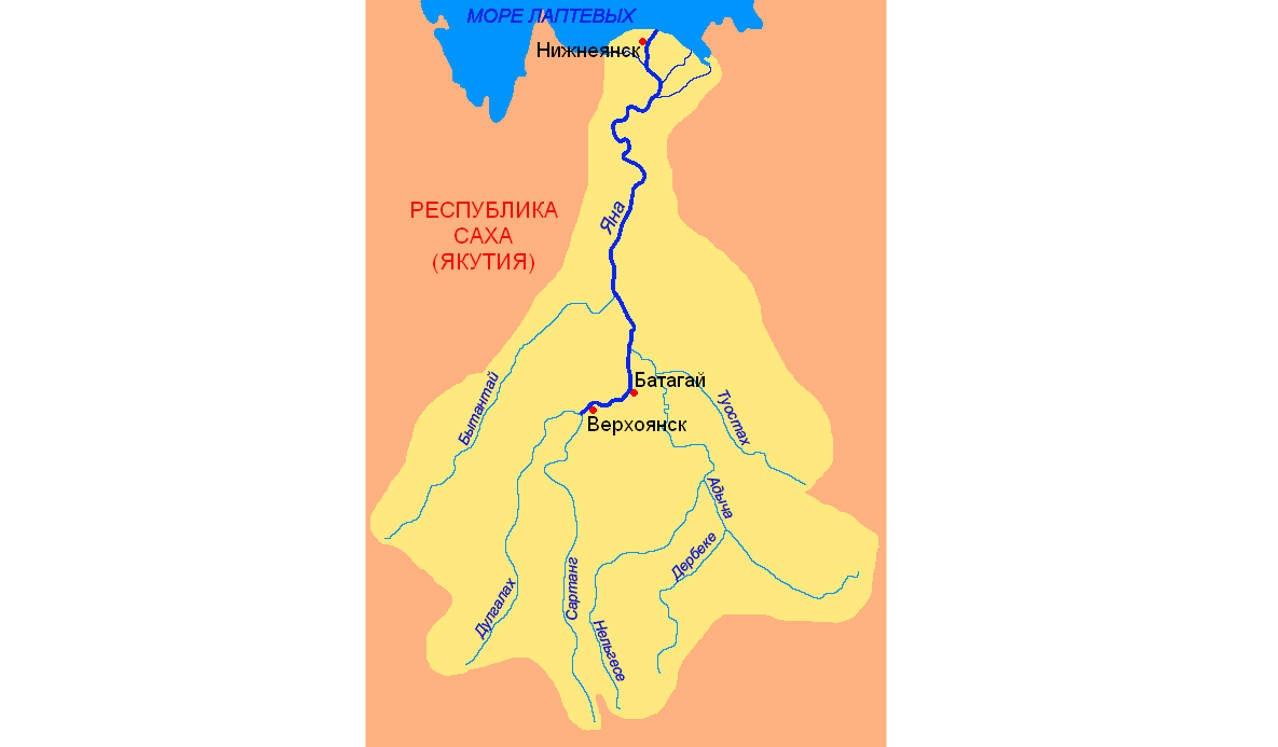 Река Яна (Якутия)