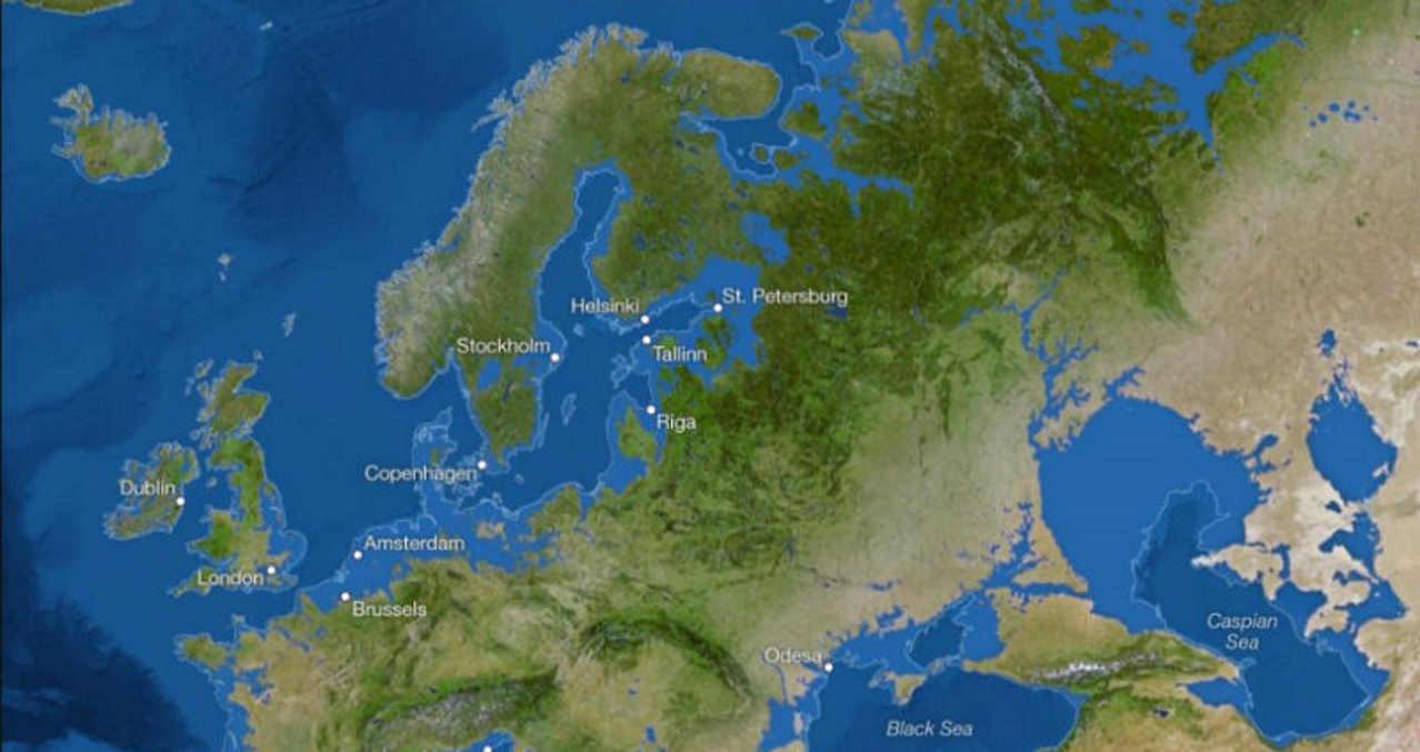 Затопленная Европа