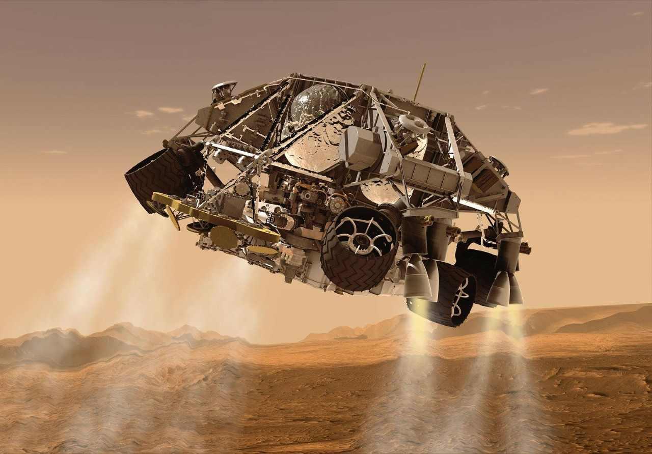 Следы жизни на Марсе могли быть уничтожены